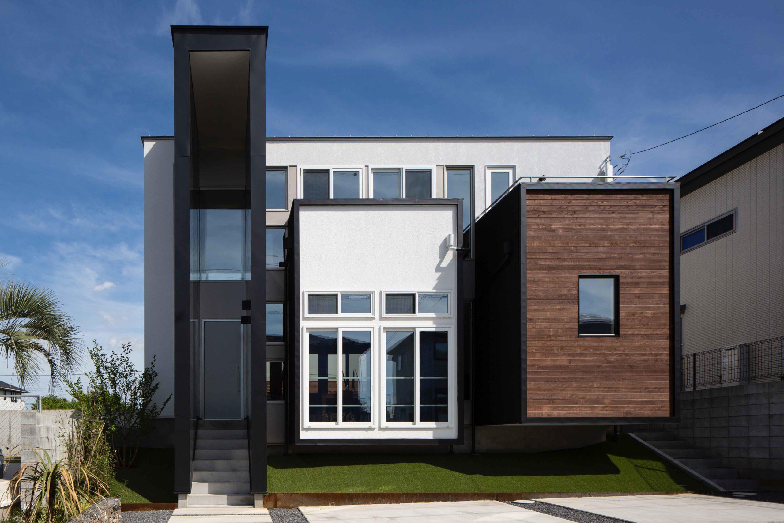 ボックスを複合させた新たな構成方法で、R+houseの次なるデザインを提案03